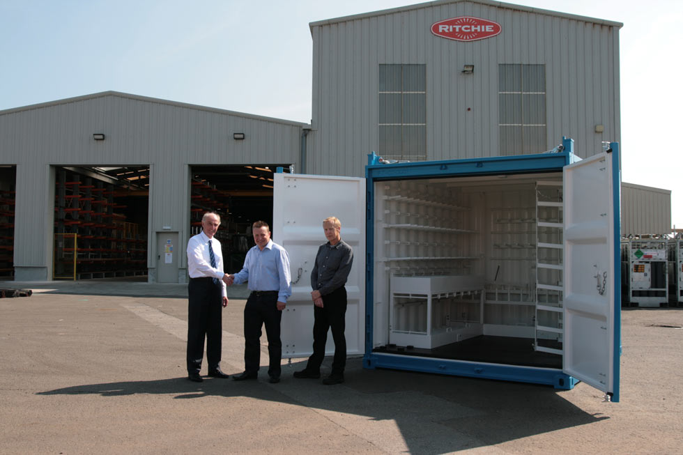 RITCHIE CELEBRATE DELIVERY OF 20,000TH DNV 2.7-1 UNIT